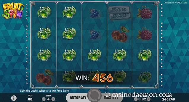 Fruit Spin slot screenshot 1