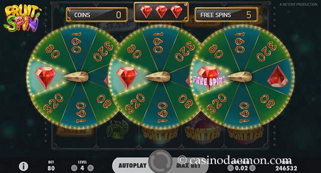 Fruit Spin slot screenshot 3