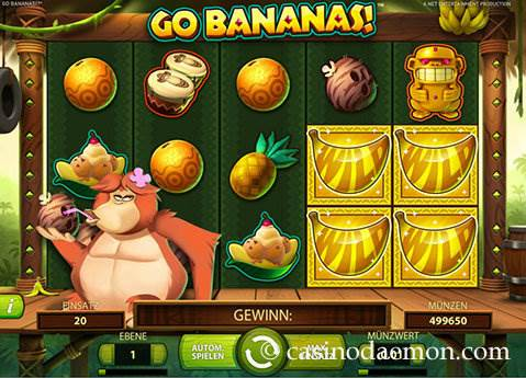 Go Bananas Spielautomat screenshot 3