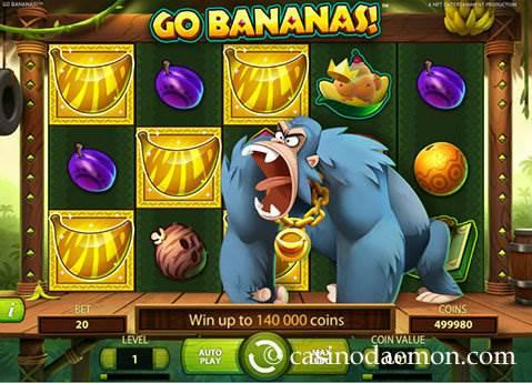 Go Bananas slot screenshot 1