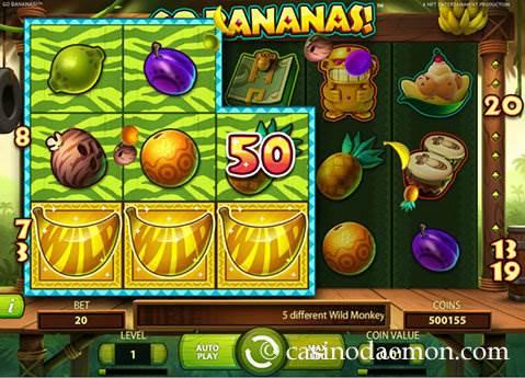 Go Bananas slot screenshot 3