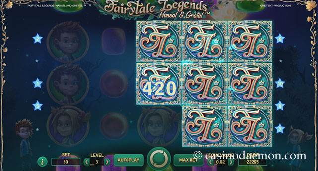 Fairytale Legends: Hansel & Gretel slot screenshot 1