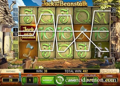 Jack and the Beanstalk slot screenshot 2