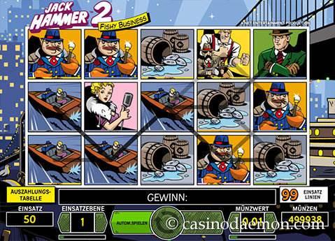 Jack Hammer 2 Spielautomat screenshot 1