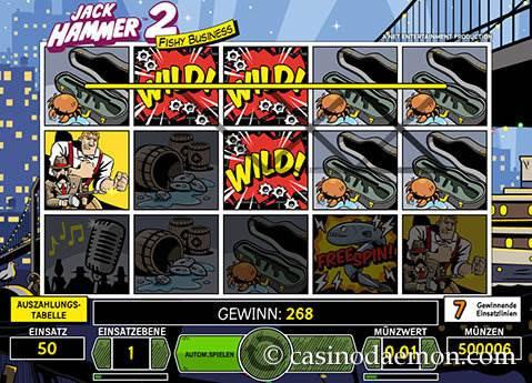 Jack Hammer 2 Spielautomat screenshot 2