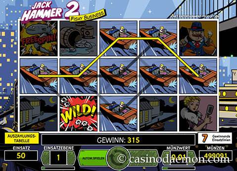 Jack Hammer 2 Spielautomat screenshot 3