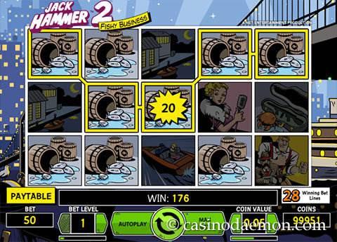 Jack Hammer 2 slot screenshot 1
