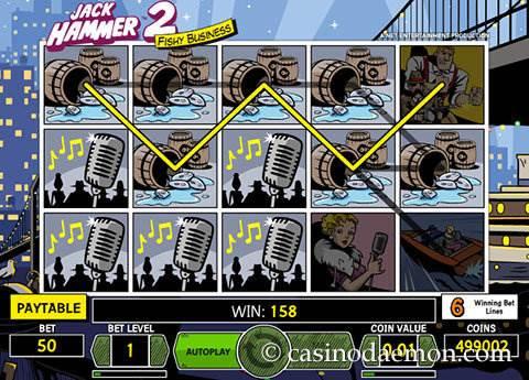 Jack Hammer 2 slot screenshot 4