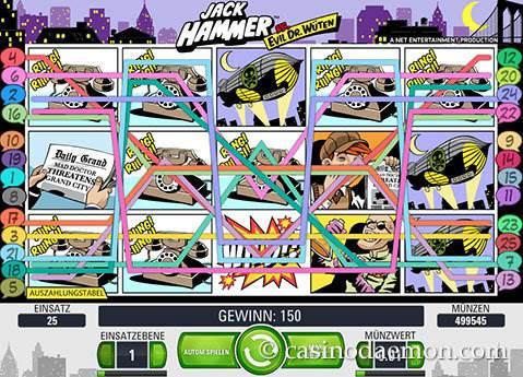 Jack Hammer Spielautomat screenshot 3