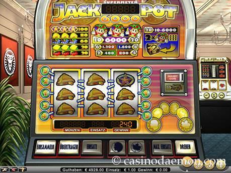 Jackpot 6000 Spielautomat screenshot 1