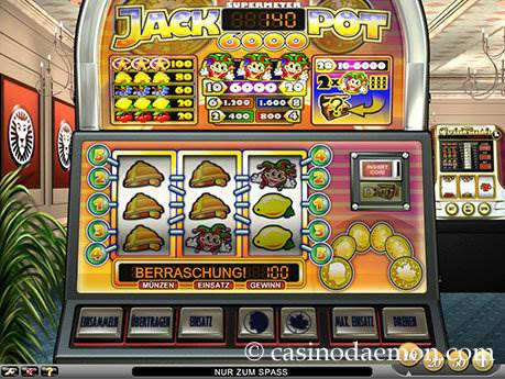Jackpot 6000 Spielautomat screenshot 2