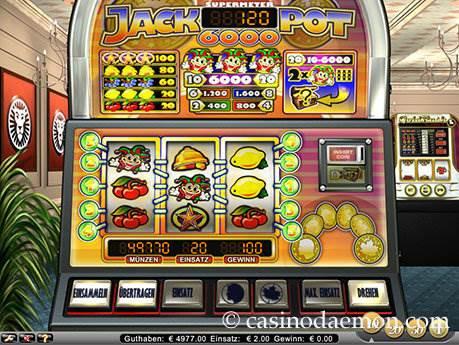 Jackpot 6000 Spielautomat screenshot 3