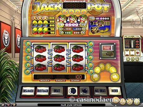 Jackpot 6000 Spielautomat screenshot 4