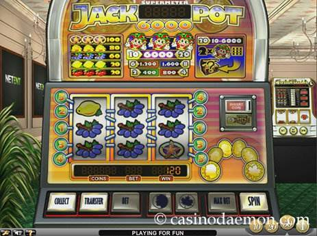Jackpot 6000 slot screenshot 2