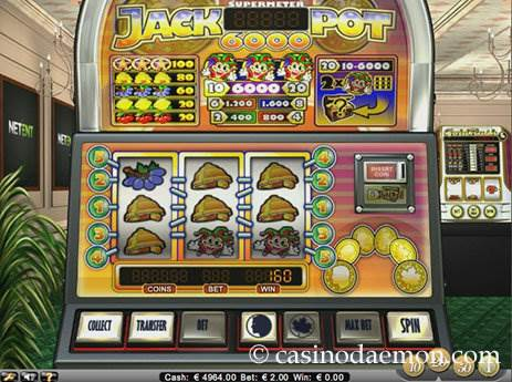 Jackpot 6000 slot screenshot 3