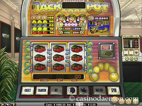 Jackpot 6000 slot screenshot 4