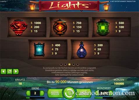 Lights Spielautomat screenshot 4