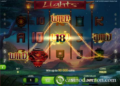 Lights slot screenshot 1