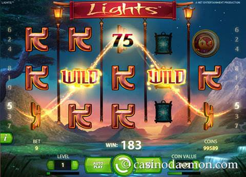Lights slot screenshot 2