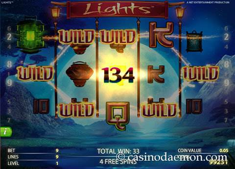 Lights slot screenshot 3