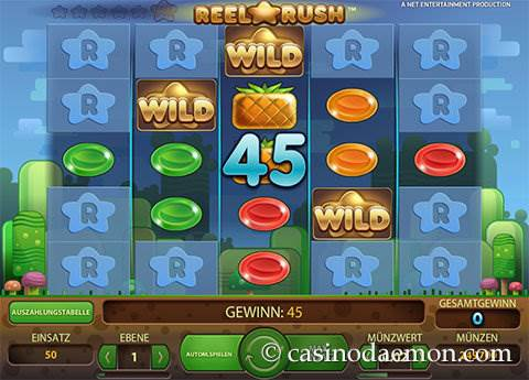 Reel Rush Spielautomat screenshot 1