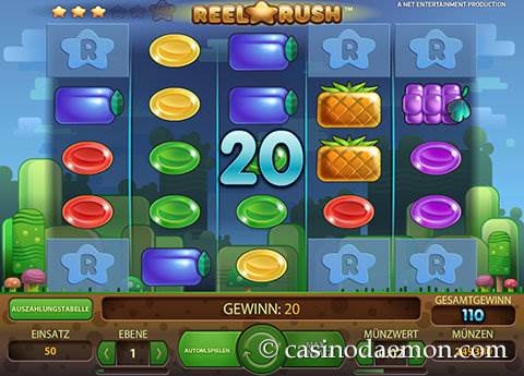 Reel Rush Spielautomat screenshot 4