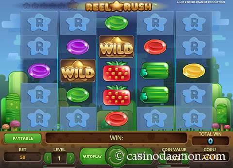 Reel Rush slot screenshot 1