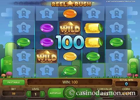 Reel Rush slot screenshot 2