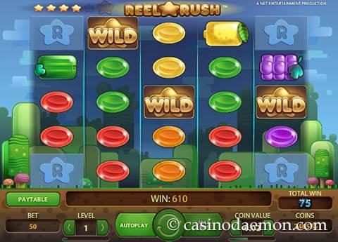 Reel Rush slot screenshot 3