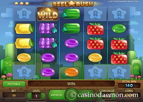 Reel Rush slot screenshot 4