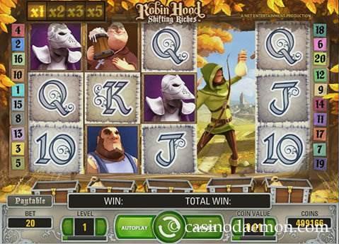 Robin Hood Shifting Riches slot screenshot 3