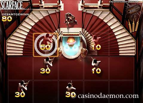 Scarface Spielautomat screenshot 1