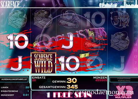 Scarface Spielautomat screenshot 3