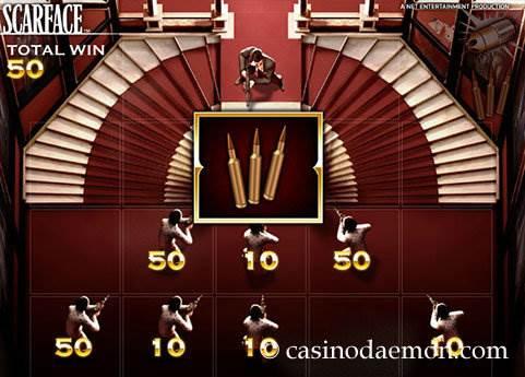 Scarface slot screenshot 3