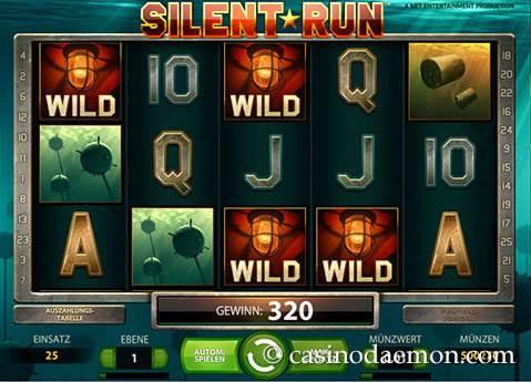 Silent Run Spielautomat screenshot 1
