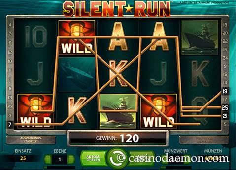 Silent Run Spielautomat screenshot 2