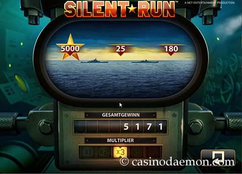 Silent Run Spielautomat screenshot 3