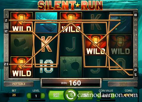 Silent Run slot screenshot 1