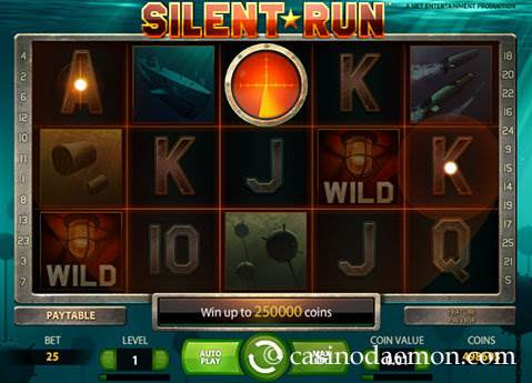 Silent Run slot screenshot 2