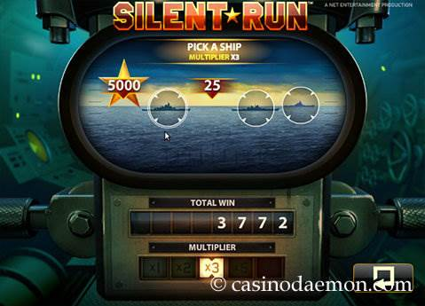 Silent Run slot screenshot 3