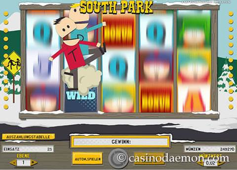 South Park Spielautomat screenshot 3