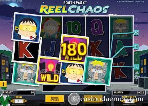 South Park Reel Chaos Spielautomat screenshot 2