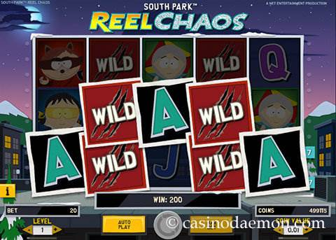 South Park Reel Chaos slot screenshot 2