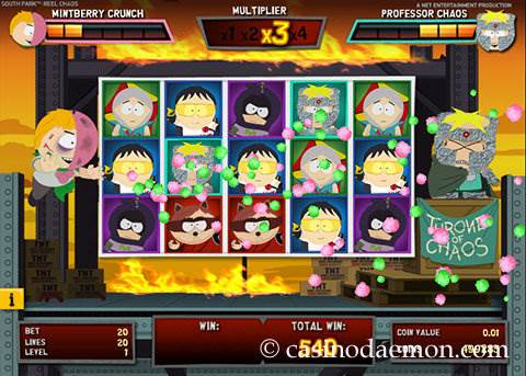 South Park Reel Chaos slot screenshot 3