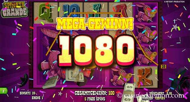 Spiñata Grande Spielautomat screenshot 2