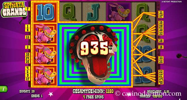 Spiñata Grande Spielautomat screenshot 3