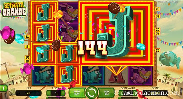 Spinata Grande slot screenshot 1