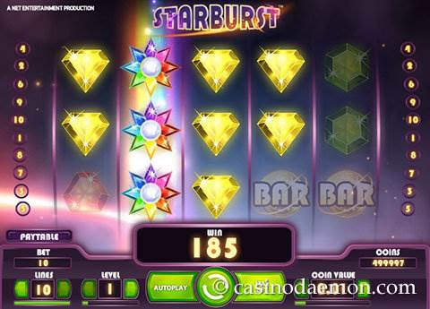 Starburst slot screenshot 3