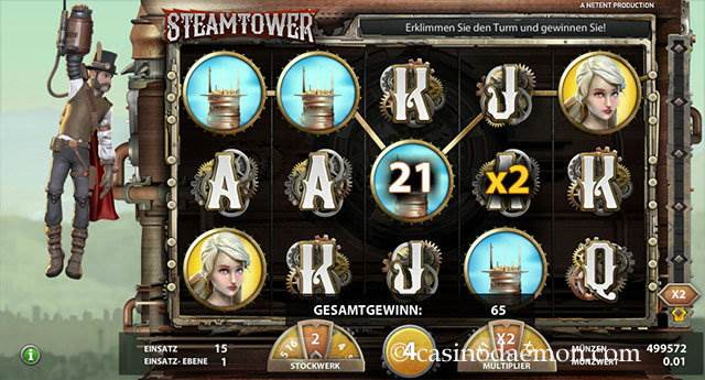 Steam Tower Spielautomat screenshot 3