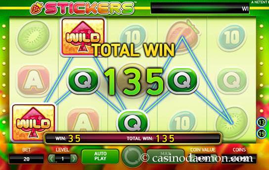 Stickers slot screenshot 3